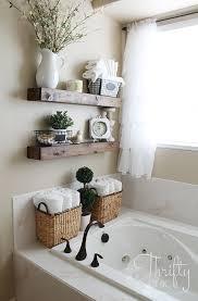 master bathroom wall decor ideas awesome diy floating shelves and bathroom update of master bathroom wall
