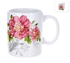 Купить <b>Polystar collection Кружка</b> Райский сад 310 мл белый по ...