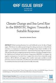 climate change and sea level rise in
