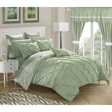 sea green comforter sets throughout strick bolton josephine piece bed in a bag designs