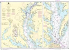 Online Chesapeake Bay Charts Nautical Charts Online Noaa Nautical Chart 12280