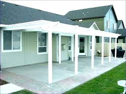 build a back porch porch cover ideas attractive how to build a back front cost build