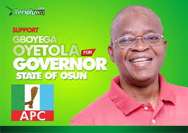 Profile of Gboyega OSUN 2018