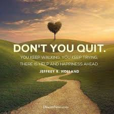 Lds Quotes On Faith Cool Wright Thurston On Twitter Don't You Quit 48MillionMiler