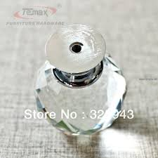 Dressers ~ 2x40mm Clear Round Glass Cabinet Drawer Crystal Knobs ...