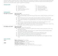 Resume Examples For Retail Retail Resume Example Retail Resume