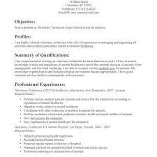 Surgical Tech Resume Good Resume Templates Veterinary Technician Vet
