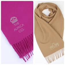 alpaca scarf gift box