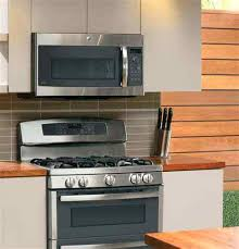 ge over the stove microwave. Perfect Over Ge Over Range Microwaves Profile Series Lifestyle View Stainless Steel And The Stove Microwave