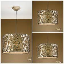 new three large aged silver leaf metal light chandelier lights uttermost