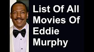 Eddie Murphy Movies & TV Shows List - YouTube