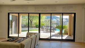 big sliding glass doors or multifold