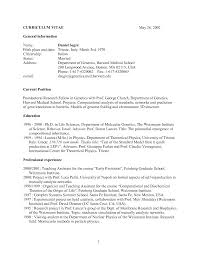 Medical School Resume Samples Harvard Template Admissions Example