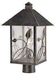 french garden collection high outdoor post light com