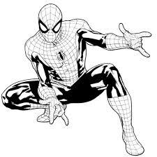 Idee Di Uomo Ragno Da Colorare Image Gallery Con Ragno Spiderman Da