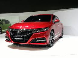 new car releases in 2014New Honda Spirior Concept Previews European  Chinas NextGen