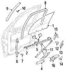 parts com® chevrolet glass insulator partnumber 15786626 2002 chevrolet venture ls v6 3 4 liter gas glass hardware