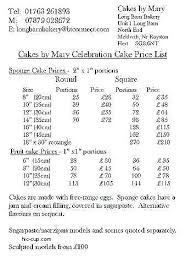 List Of Cake Flavors Cake Flavors Stunning Wedding Cake Prices
