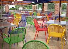 emu outdoor restaurant and cafe patio furniture