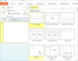 Powerpoint Create Slide Template Creating Slide Template Powerpoint 2010 Create Office Master