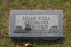 Susan Viola Lewis Hendricks (1869-1933) - Find A Grave Memorial