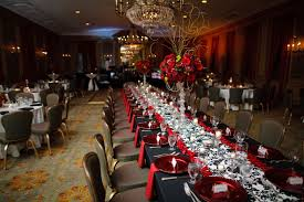 decorating ideas for rehearsal dinner tables luxury tag black white and red bridal shower theme party