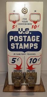 Postage Vending Machines Cool 48s Vintage US Postage Stamp Vending Machine Vending Machine