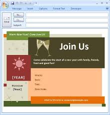 Outlook Templates Free Inspiring Outlook Email Invitation Templates Pictures