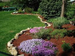 garden mulch. Modren Garden Freshly Mulched Garden And Garden Mulch