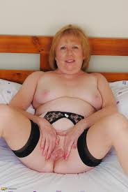 Horny mature older women