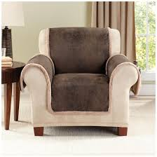 sure fit stretch leather recliner slipcover 581254 freedom furniture chair covers