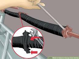 image titled adjust a garage door spring step 19