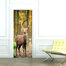 hunting wallpaper for home deer wall murals design cheap decals scene mural  forest wallpapers