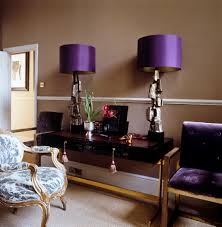 Lamps For Bedrooms Astounding Purple Drum Shade Bedroom Table Lamps And Classic Arm