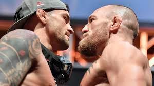 Conor McGregor vs. Dustin Poirier at ...