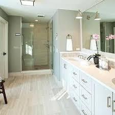 Bathroom Wood Tile Floor Best River Rock Floor Ideas On Wood Tile