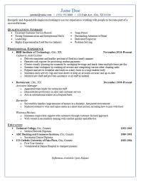 Restaurant Server Resume Interesting Restaurant Server Resume Example Bartender Hostess