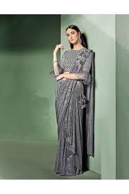 Designer Stitched Saree Mohmanthan Marvella One Minute Designer Readymade Saree 5309