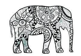 Coloring Pages Elephant Coloring Pages Free Free Elephant Coloring