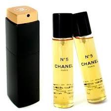 chanel no 5 eau de parfum. no.5 eau de toilette purse spray and 2 refills (limited edition) 3x20ml/0.7oz chanel no 5 parfum