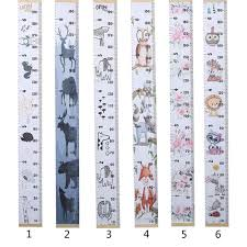 Ornament Size Chart Nordic Style Baby Child Kids Height Ruler Kids Growth Size