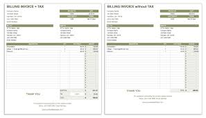 Invoice Sheets 24 Free Invoice Templates Smartsheet 14
