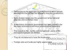 democracy and dictatorship 24