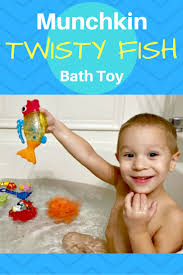 bath time fun with the munchkin twisty fish gifts kids mermaid one year old tub toddlers