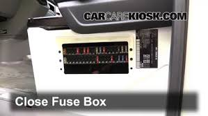 blown fuse check 2007 2016 mercedes benz sprinter 2500 2011 6 replace cover secure the cover and test component