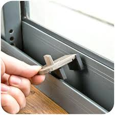 sliding glass door stopper image of sliding glass door lock bar detail sliding glass door draft stopper