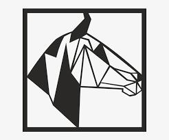 metal animal figur horse head wall art