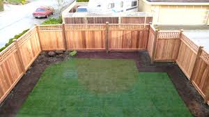image of building a wood fence panels