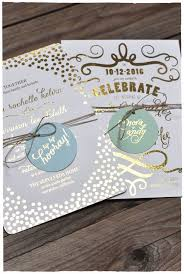 954 best wedding invitations images on pinterest stationery Wedding Invitation Maker In San Pedro Laguna gold foil invitations with hang tags!