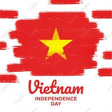 ป้ายแบนเนอร์วันประกาศอิสรภาพของเวียดนามพร้อมการตกแต่งธงชาติเวียดนามพร้อมเอฟเฟกต์แปรงทาสีสำหรับการ์ดอวยพรพิมพ์โปสเตอร์แบนเนอร์,  ประเทศ, ธง, กรันจ์ภาพ PNG และ เวกเตอร์ สำหรับการดาวน์โหลดฟรี